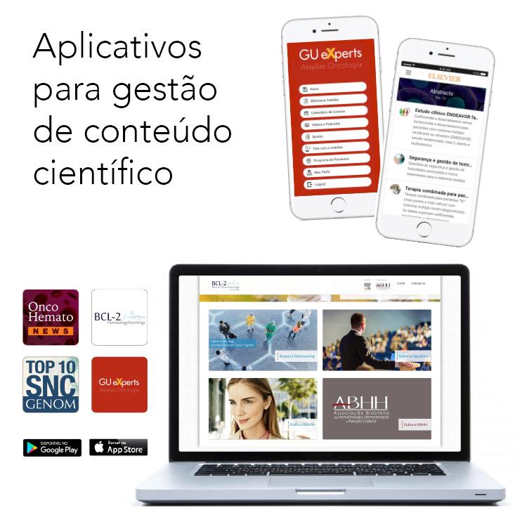 Aplicativo para gestão de conteúdo científico