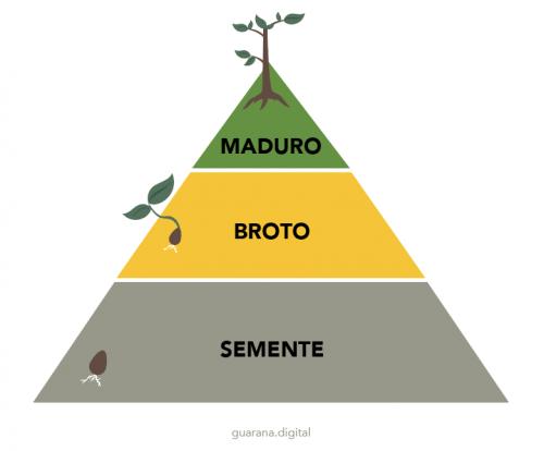 Pirâmide de vendas - público do marketing digital