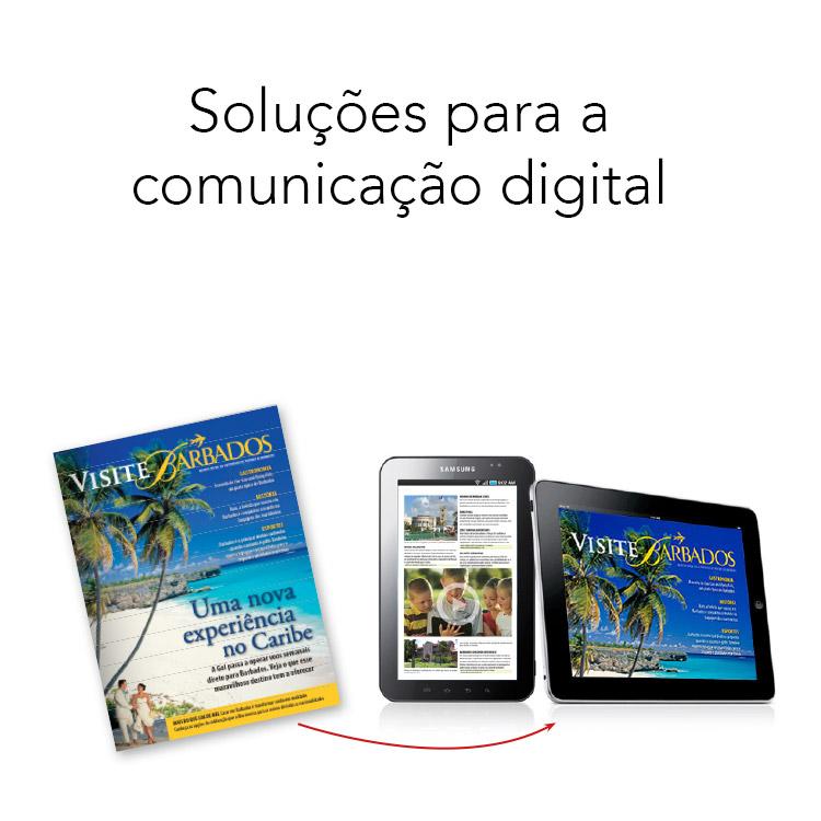 Soluções para comunicação digital