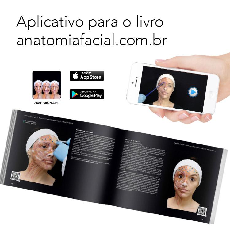 Aplicativo para o livro Anatomia Facial